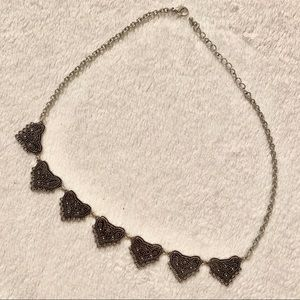 Jewelry - 3mm 21 inch Silver Hearts Necklace